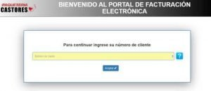 Paqueteria Castores facturacion electronica en linea online telefono recuperacion autofacturacion