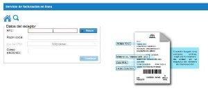 sodimac facturacion electronica en linea comercializadora ticket internet telefono